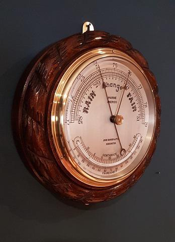 Antique Ship's Barometer by Barker of Kensington (1 of 4)