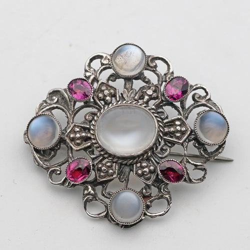 Arts & Crafts Silver Brooch (1 of 2)