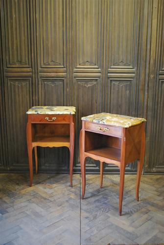 Pair of French Bedside Cabinets c.1930 (1 of 6)