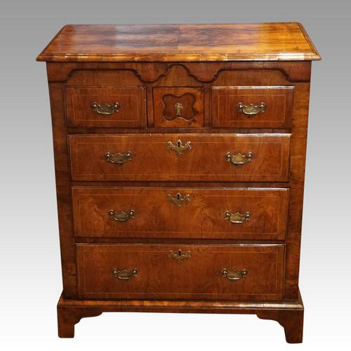 George III Walnut Norfolk chest (1 of 13)