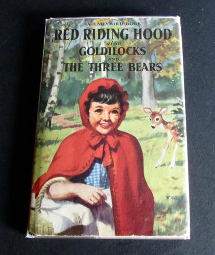 1958 Red Riding Hood Goldilocks & 3 Bears by Gilda Lund, 1st Edition Ladybird Book with Dust Jacket (1 of 5)