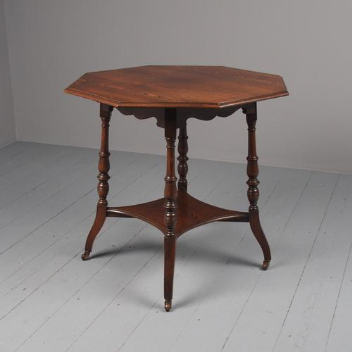Aesthetic Movement Ash Occasional Table (1 of 11)