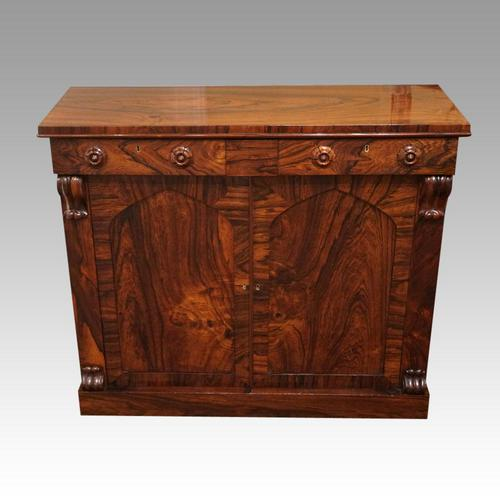 William IV Rosewood Chiffonier Sideboard (1 of 7)