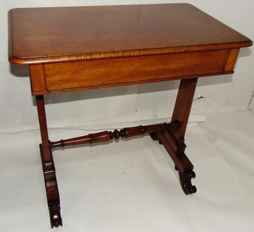 Scottish Late Regency Mahogany Writing Table (1 of 8)