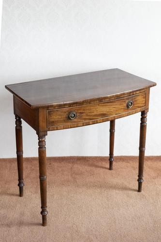 George III Bow Front Side Table (1 of 7)