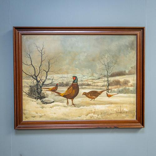 Large Oil Painting by B. M. Conway (1 of 10)