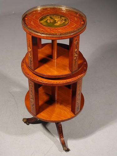 Rare Late 19th Century Revolving Dumbwaiter (1 of 7)