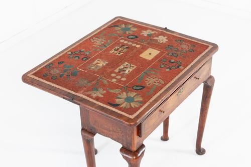 George I Walnut Card Table (1 of 12)
