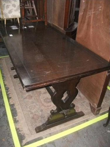 Refectory Draw Leaf Dining Table (1 of 3)