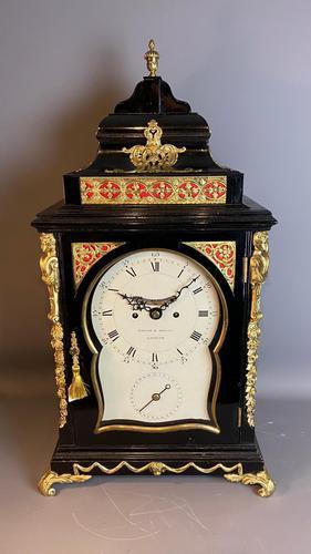 George III Ebonised Bracket Clock (1 of 15)
