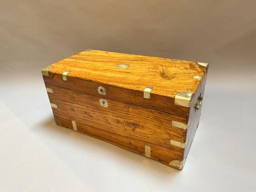Century 19th Camphor Campaign Chest Trunk (1 of 8)