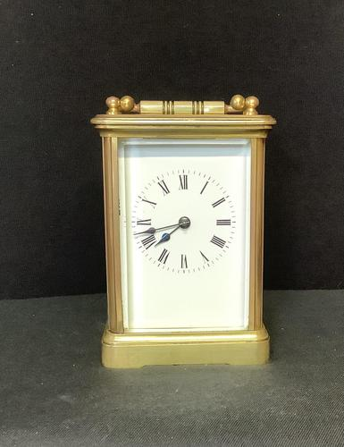Clock Carriage in Case with Key (1 of 6)
