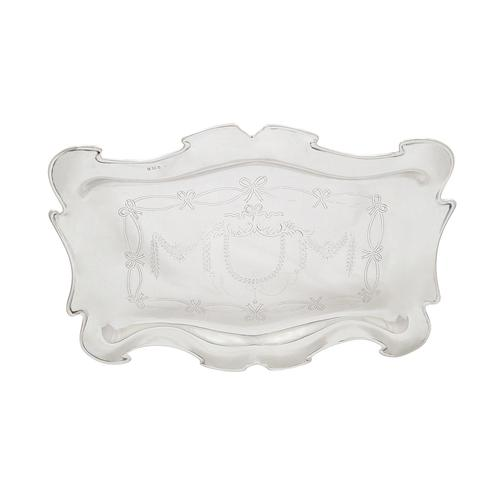 Antique   Edwardian Sterling Silver Dressing Tray  1905 (1 of 17)