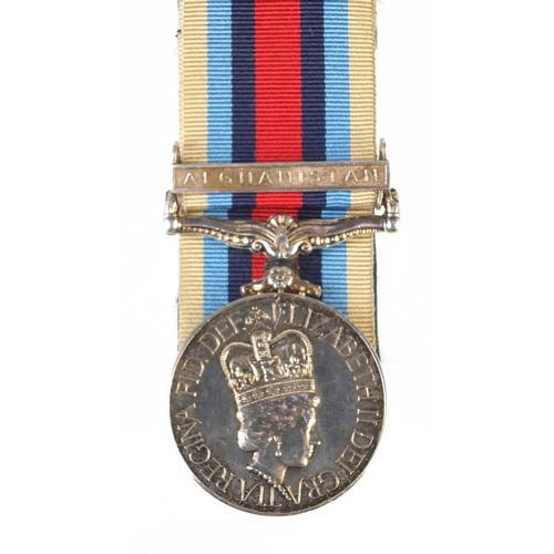 British military Elizabeth II Operational Service medal with Afghanistan bar etc (1 of 3)