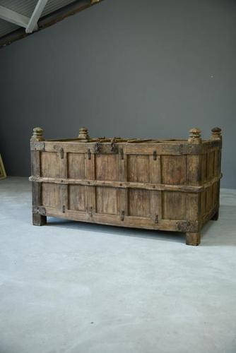 Large Indian Dowry Chest (1 of 11)