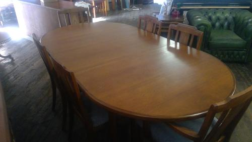 G plan Teak Table & Chairs (1 of 3)