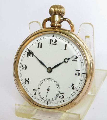 1920s Lagaros Pocket Watch by Record (1 of 6)