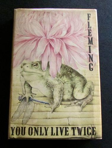 1964 1st Edition You Only Live Twice By Ian Fleming Complete With Original Dust Jacket (1 of 5)