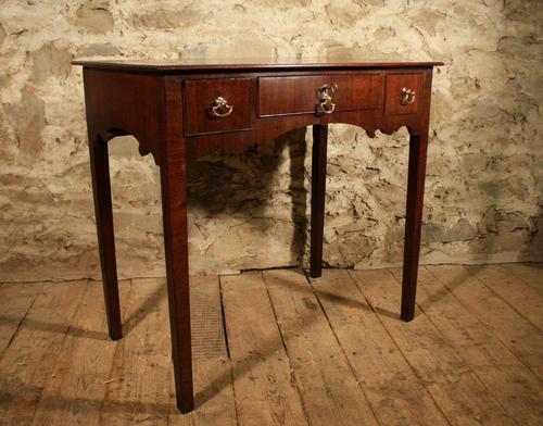 19th Century Mahogany Side Table (1 of 5)