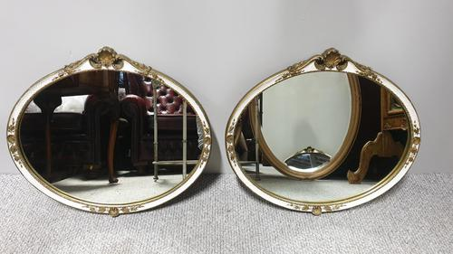 Pair of Oval Mirrors (1 of 6)