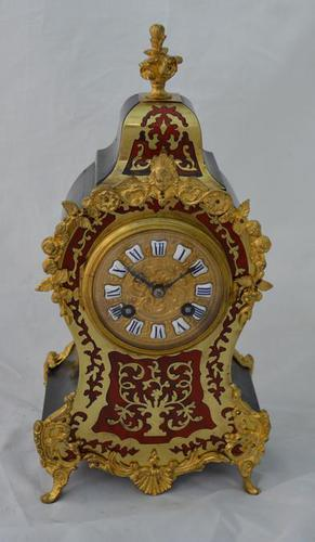 French Boulle Mantel Clock (1 of 4)