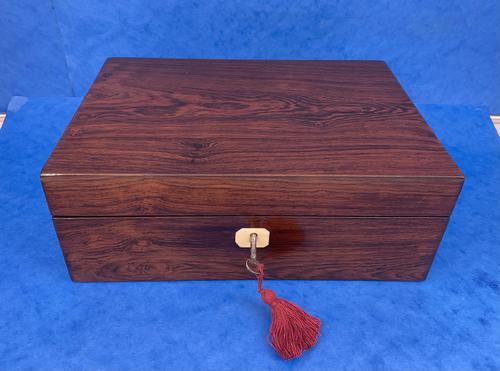 Regency Rosewood Jewellery Box (1 of 9)