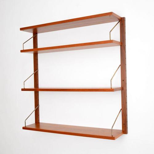 Danish Teak Royal Shelving Bookshelf by Poul Cadovius (1 of 11)