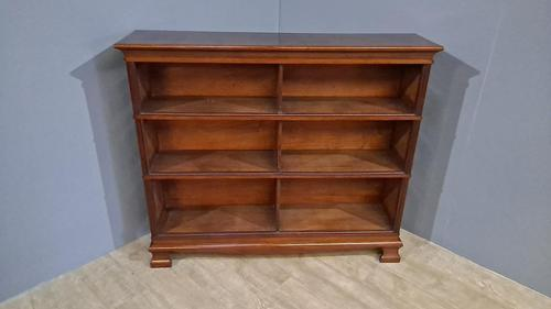 Stacking Mahogany Open Bookcase (1 of 4)