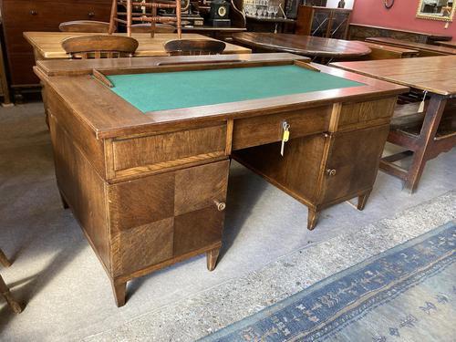 Oak Jewellers Desk (1 of 9)