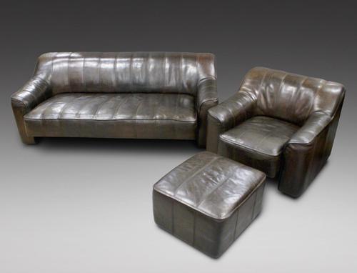 Buffalo Leather Suite by De Sede (1 of 6)