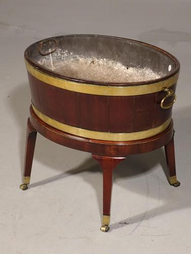 Good Oval Mahogany Wine Cooler by Gillows of Lancaster (1 of 6)