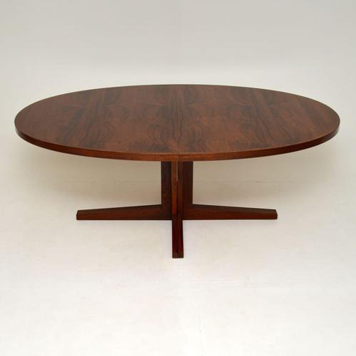 Danish Vintage Rosewood Dining Table by John Mortensen (1 of 10)