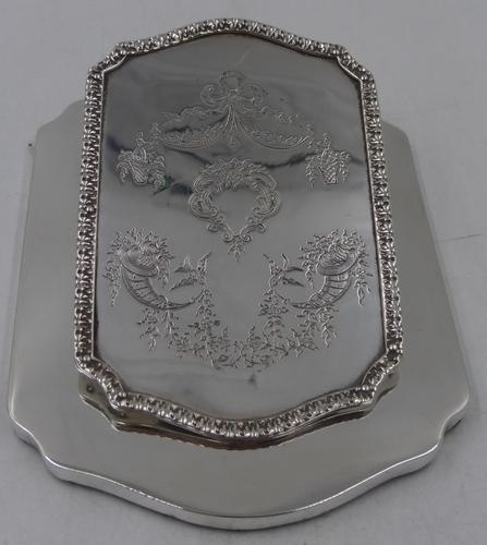 Antique Silver Desk Clip London 1911 (1 of 5)