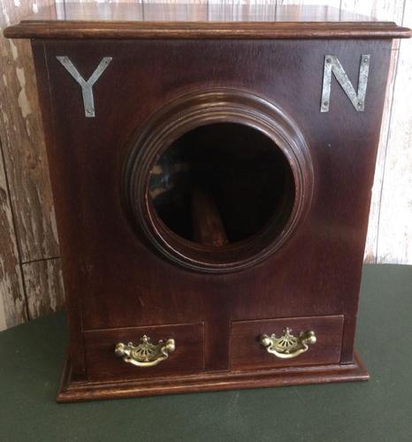 Masonic Type Ballot Box (1 of 10)