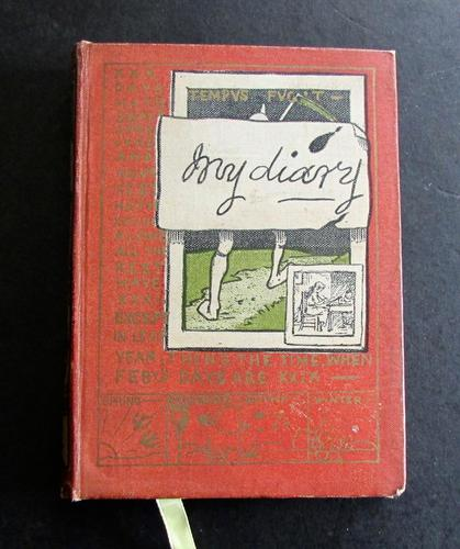 1890 1st Edition My Diary Illustrated by Edmund Evans (1 of 5)