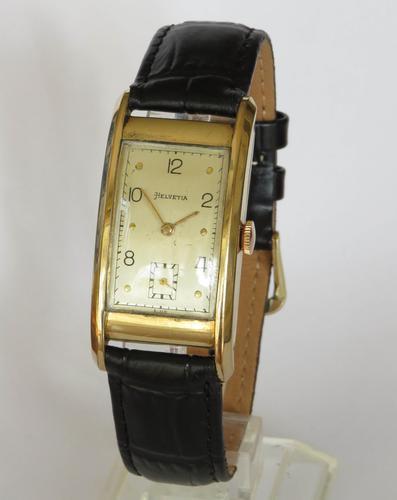 Gents 1940s Helvetia Wrist Watch (1 of 5)