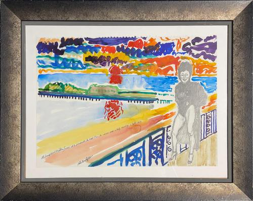 John Bratby - The Grand Hotel Brighton Terrace with the Promenade & West Pier (1 of 2)