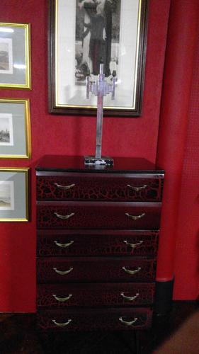 Pair of Lacquered Tallboy Chests of Drawers (1 of 5)