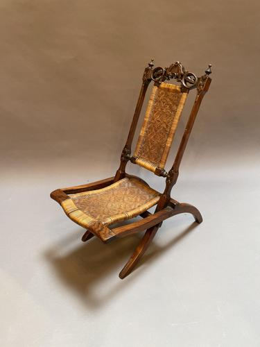 19th Century Anglo-Colonial Steamer Chair (1 of 8)