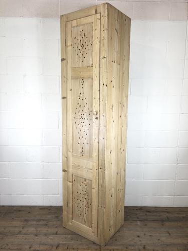 Antique Pine Narrow Food Cupboard (1 of 10)