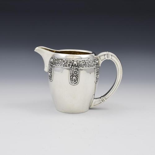 Jugendstil Art Nouveau German Silver Cream Jug c.1910 (1 of 11)
