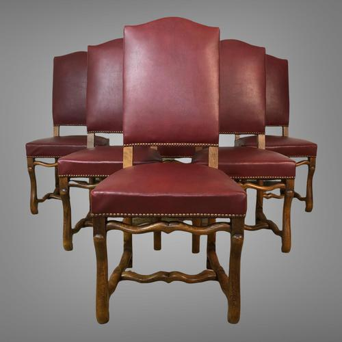 French Os De Mutton Set of 6 Dining Chairs (1 of 14)