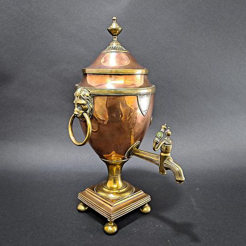 Regency Copper & Brass Samovar (1 of 8)