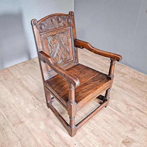 17th Century Wainscot Chair (1 of 5)