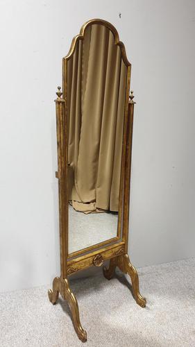 Gilt Cheval Mirror (1 of 7)