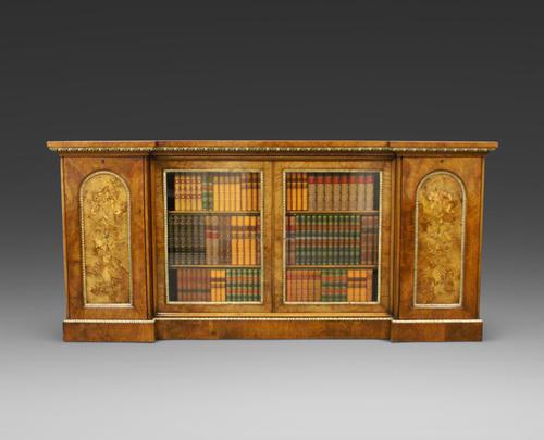Exceptional Walnut & Ormolu Side Cabinet (1 of 5)