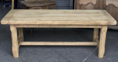 Bleached Oak Normandie Farmhouse Dining Table (1 of 10)