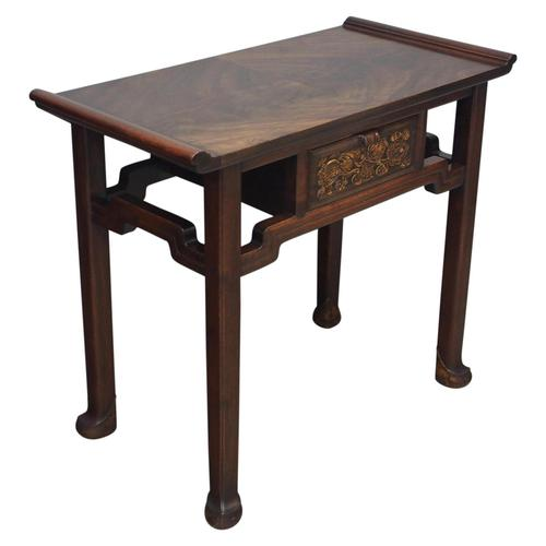 Chinoiserie Mahogany Side Table by Whytock and Reid (1 of 13)