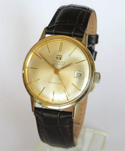 Gents Tissot Visodate Seastar wrist watch, 1965 (1 of 6)
