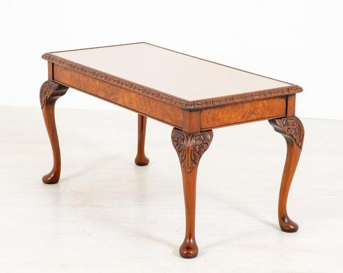 Superb Walnut Queen Anne Style Coffee Table (1 of 7)
